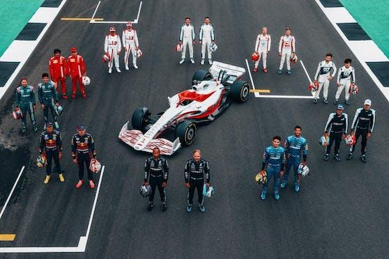 So sehen die neuen Formel-1-Boliden aus.