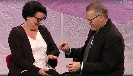 """Otto macht Petra in der """"Barbara Karlich Show"""" einen Heiratsantrag"""