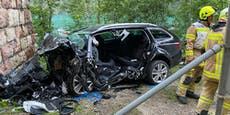 33-Jähriger kracht mit Auto gegen Tunnelportal – tot