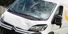Motorradfahrer sterben bei Crash mit Paketdienst
