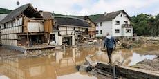 Deutsche Flutkatastrophe: 103 Tote, 1.300 vermisst
