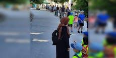 Riesen-Ansturm! Meterlange Warteschlange vor Wiener Zoo