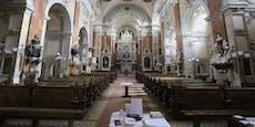 Mann stiehlt mehrere tausend Euro aus Wiener Kirche
