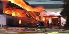 Vergessener Fetzen löst Brand mit Millionen-Schaden aus