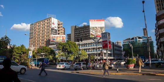 Eine Straße in Nairobi, Kenia (Symbolbild)