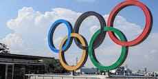 Zwei Olympia-Athleten positiv auf Corona getestet