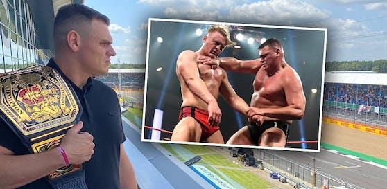 WWE-Star WALTER in Silverstone