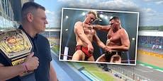 Hand verletzt! WWE-Star WALTER tauscht Ring mit F1