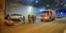 S6 Semmeringtunnel nach schwerem Crash gesperrt