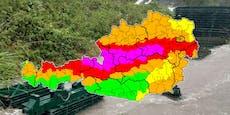 Flut-Warnung! Starkregen-Unwetter wütet vor Toren Wiens