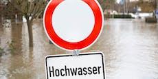 Flut-Alarm! Höchste Unwetter-Warnstufe in Österreich