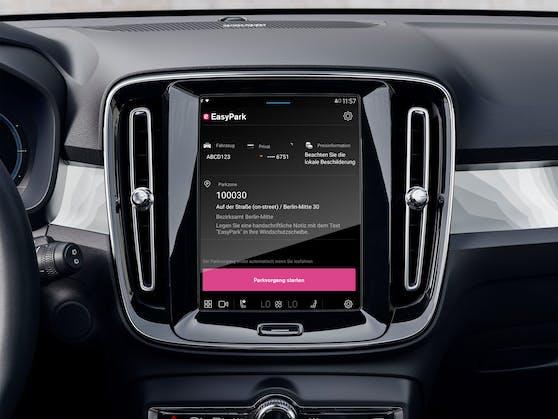 EasyPark & Volvo: Automatisch fürs Parken bezahlen.