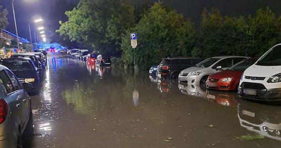 Teile Wiens waren komplett geflutet (Symbolbild)