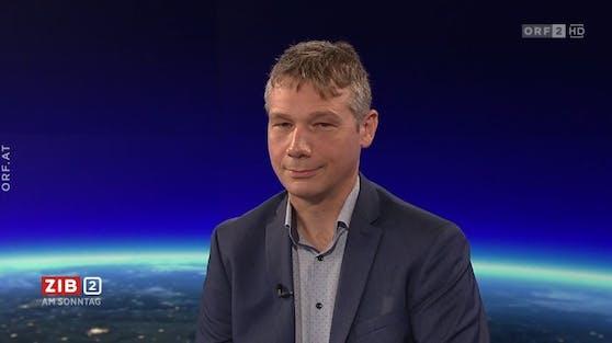 Klimaforscher Marc Olefs in der ZiB2 am Sonntag (18.07.2021).