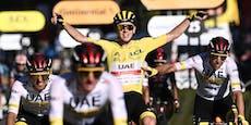 Pogacar gewinnt zum zweiten Mal die Tour de France