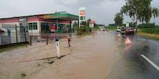 So wütete das Hochwasser in Niederösterreich