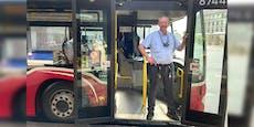 Grüßen statt granteln! Wiens freundlichster Busfahrer