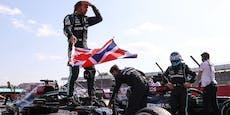 Hamilton feiert umstrittenen Heimsieg in Silverstone