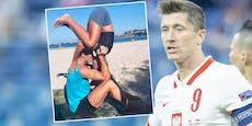 Lewandowski: Dieser Kuss ist schwieriger als jedes Tor