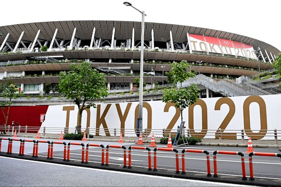 Das Olympia-Stadion in Tokio