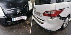 Mit 2,4 Promille: Alkolenker demoliert sechs Autos