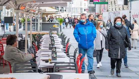 Seit Tagen steigen die Coronazahlen in Österreich wieder an, die Spitalszahlen bleiben aber stabil.