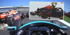 Crash mit 51 g! Red-Bull-Bosse schießen gegen Hamilton