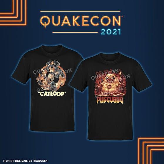 """Die """"QuakeCon at Home"""" ist zurück mit Livestreams und Merch."""