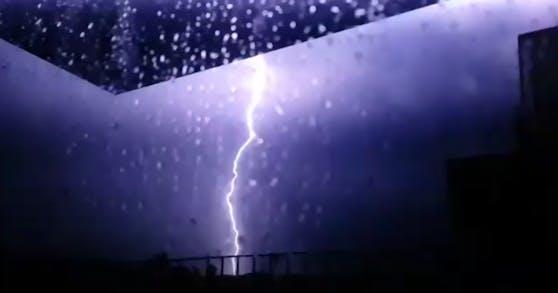 In Wien-Penzing fiel zeitweise der Strom aus