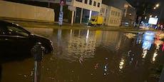 Keller, Straßen, Öffis geflutet: 1000 Einsätze in Wien