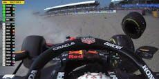 Abbruch! Harter Crash zwischen Verstappen und Hamilton