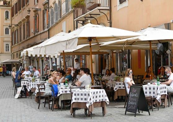 Bisher musste bei einem Restaurantbesuch in Italien kein 3-G-Nachweis erbracht werden.