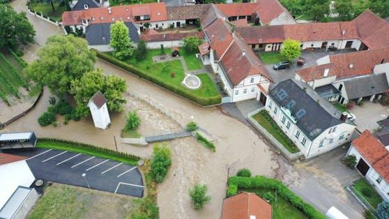 Luftaufnahme von Furth