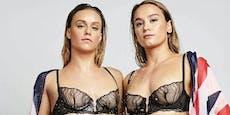 Olympia-Stars machen mit Unterwäsche-Bildern Mut