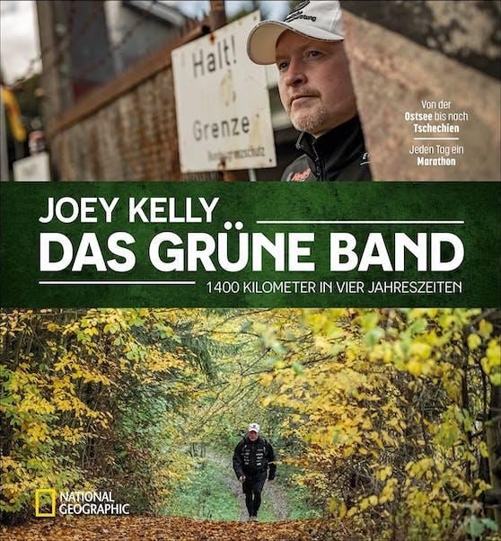 """Das Buch zum Extrem-Trip """"Das Grüne Band"""" von und mit Joey Kelly erscheint im Oktober."""