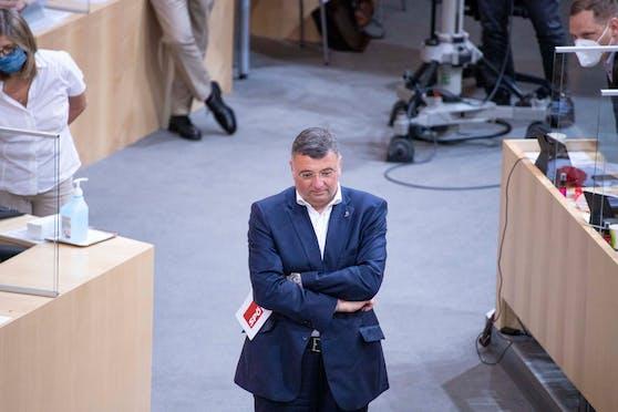 Will interne statt öffentliche Debatten: SPÖ-Klubchef Jörg Leichtfried.