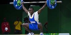Ugandas Olympia-Gewichtheber von Polizei geschnappt