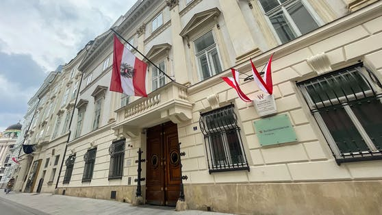 Das Innenministerium für Inneres in Wien.