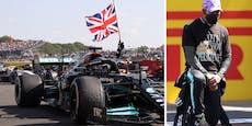 Hamilton nach Verstappen-Crash rassistisch angefeindet