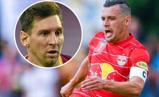 Barca-Superstar Lionel Messi testet gegen Salzburg mit Zlatko Junuzovic