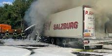Autobahn gesperrt: Lkw-Brand auf der A2 sorgt für Chaos