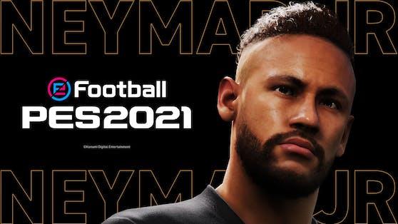 """Konami verkündet Neymar Jr. als neuen Botschafter der """"eFootball PES""""-Reihe."""