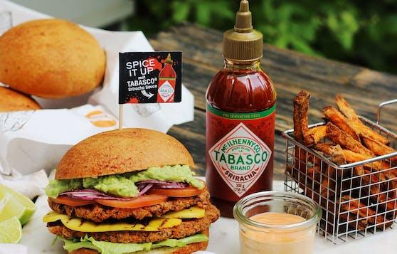 Spicy Veggie Burger: So scharf kann ein Veggie Burger sein!