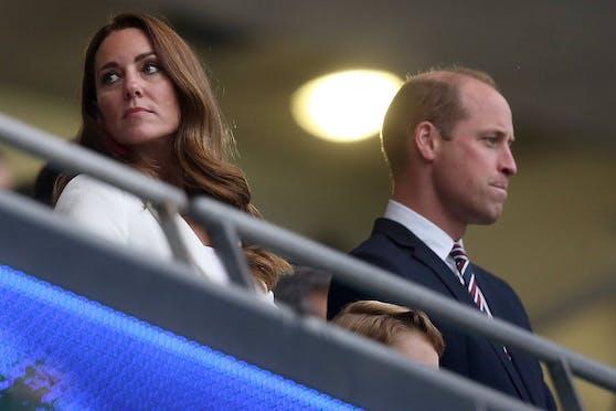 Herzogin Kate und Prinz William bei der Europameisterschaft