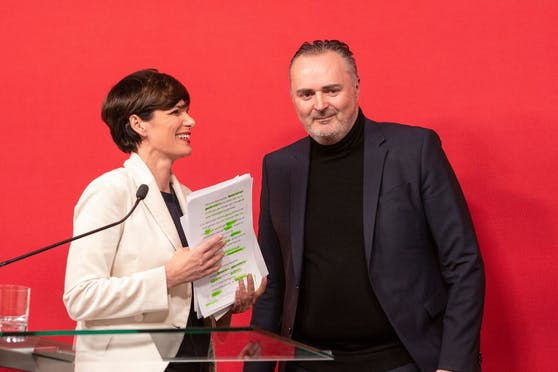 Pamela Rendi-Wagner und Hans Peter Doskozil: Die Polit-Risse sollen gekittet werden.