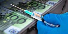 Unter Geimpften soll 1 Million Euro verlost werden