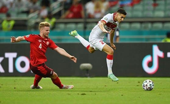 Mert Müldür im EM-Spiel gegen die Schweiz.
