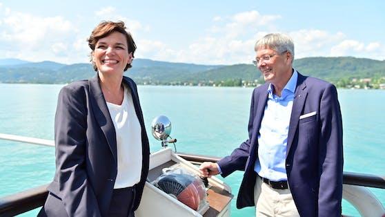 Rendi-Wagner stach nach dem Friedensgipfel mit Peter Kaiser in See.