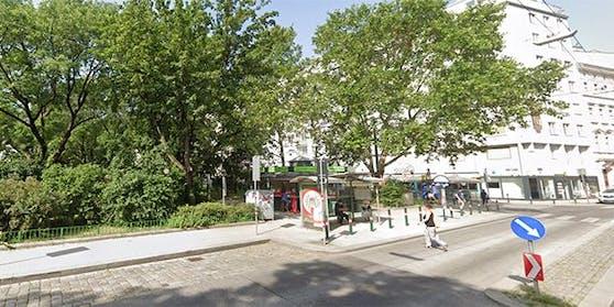 Die Jugendlichen suchten einen Park beim Kardinal-Nagl-Platz heim.