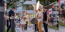 Starmania-Siegerin sorgt mit Straßenmusik für Stimmung